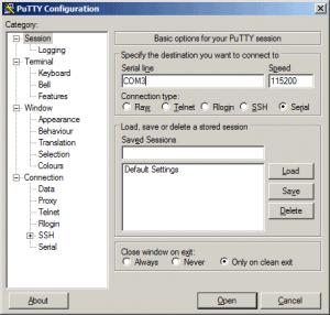 pfsense-console-reset-putty