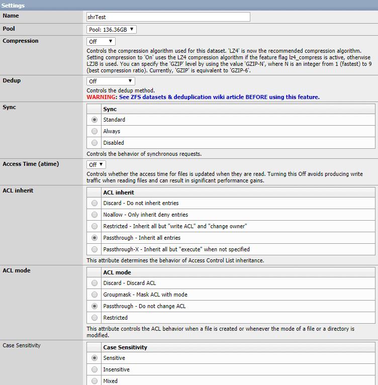 XigmaNAS (Nas4Free) - Recommended Setup - Rocky Mountain Tech Team